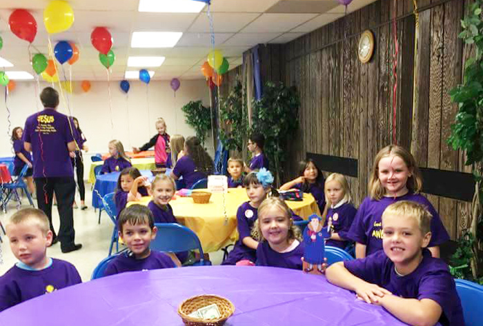 Vacation Bible School party