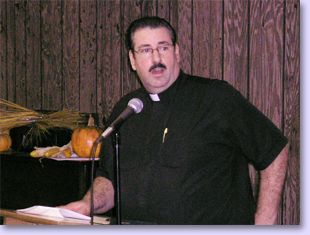 Pastor Andy speaking