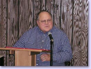 Burch delivering annual report