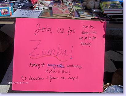 zumba classes sign