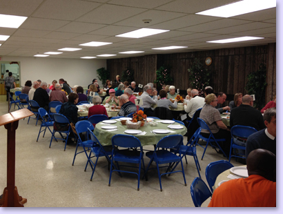 Annual Meeting and Church Dinner