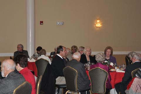 guests at tables