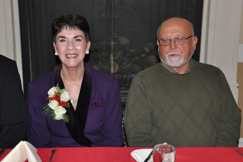 Joanne Thornley and husband Russ